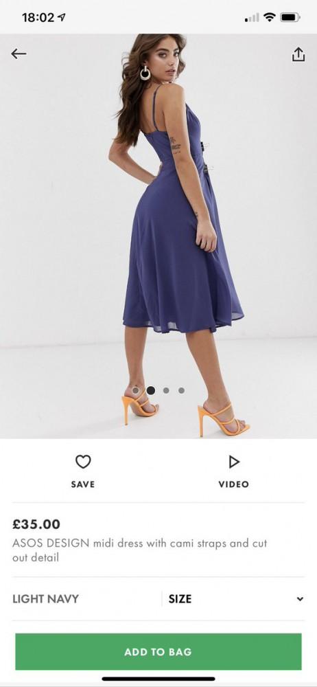 stajl asos 3 462x1000 Ktorá značka používa štipce na šatách pri fotení?